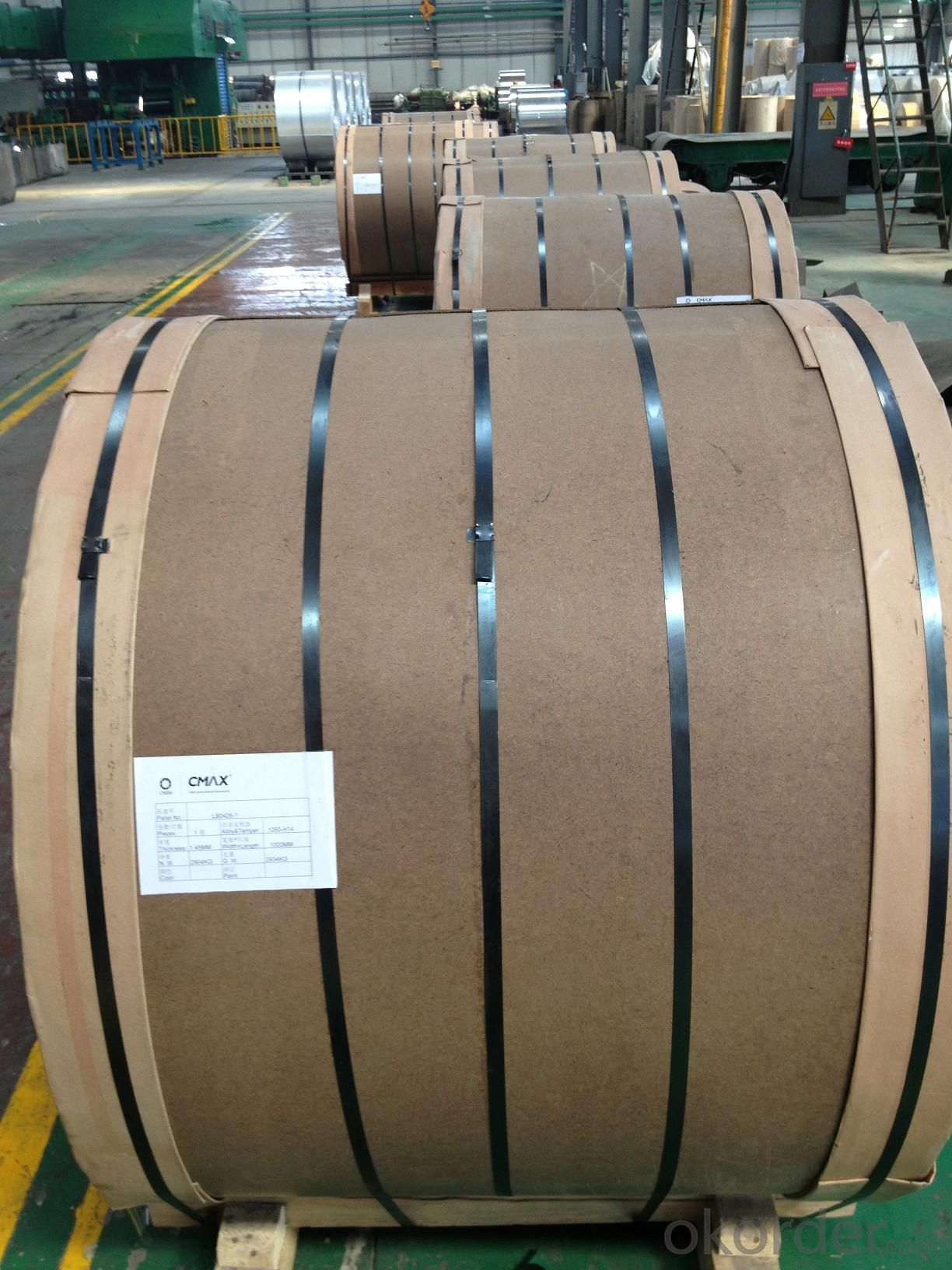 Aluminium Coils AA3003 for Manufacturing Coated Coils