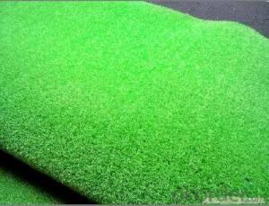 Harmless Colored Artificial Grass Used for Garden