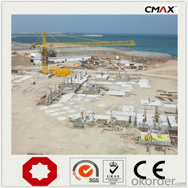 Tower Crane 12 Ton 2M*2M*3M Mast Section