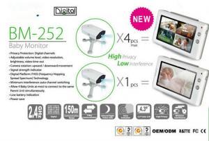 2.4GHz Digital Video Baby Monitor 4.3
