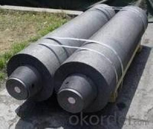 High Carbon Graphite Electrode (RP, HD, HP) -300-500m with Nipples