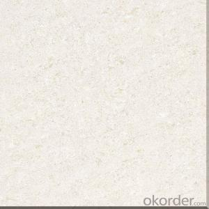 Polished Porcelain Tile Crystal Jade Serie White Color CMAX26601/26602