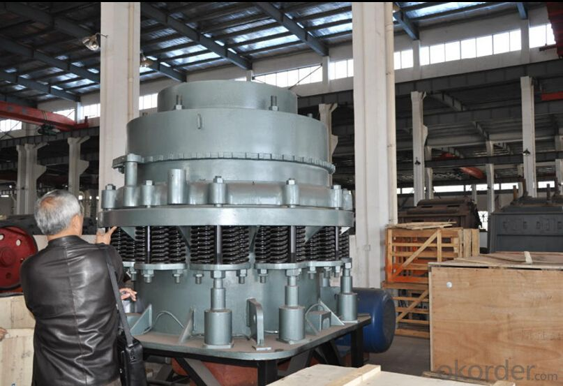 Hydraulic Cone Crusher for Mountain Stone for Road Construction