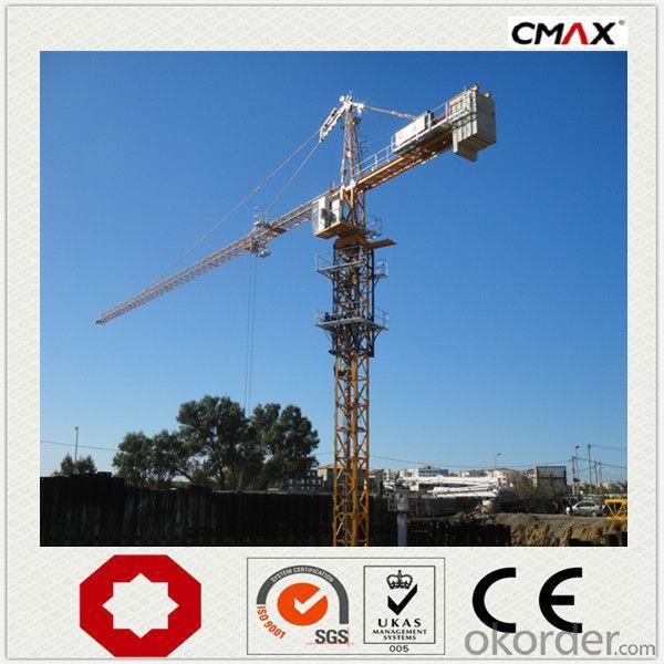 Tower Crane VFD PLC 16 Ton Max Capacity CMAX