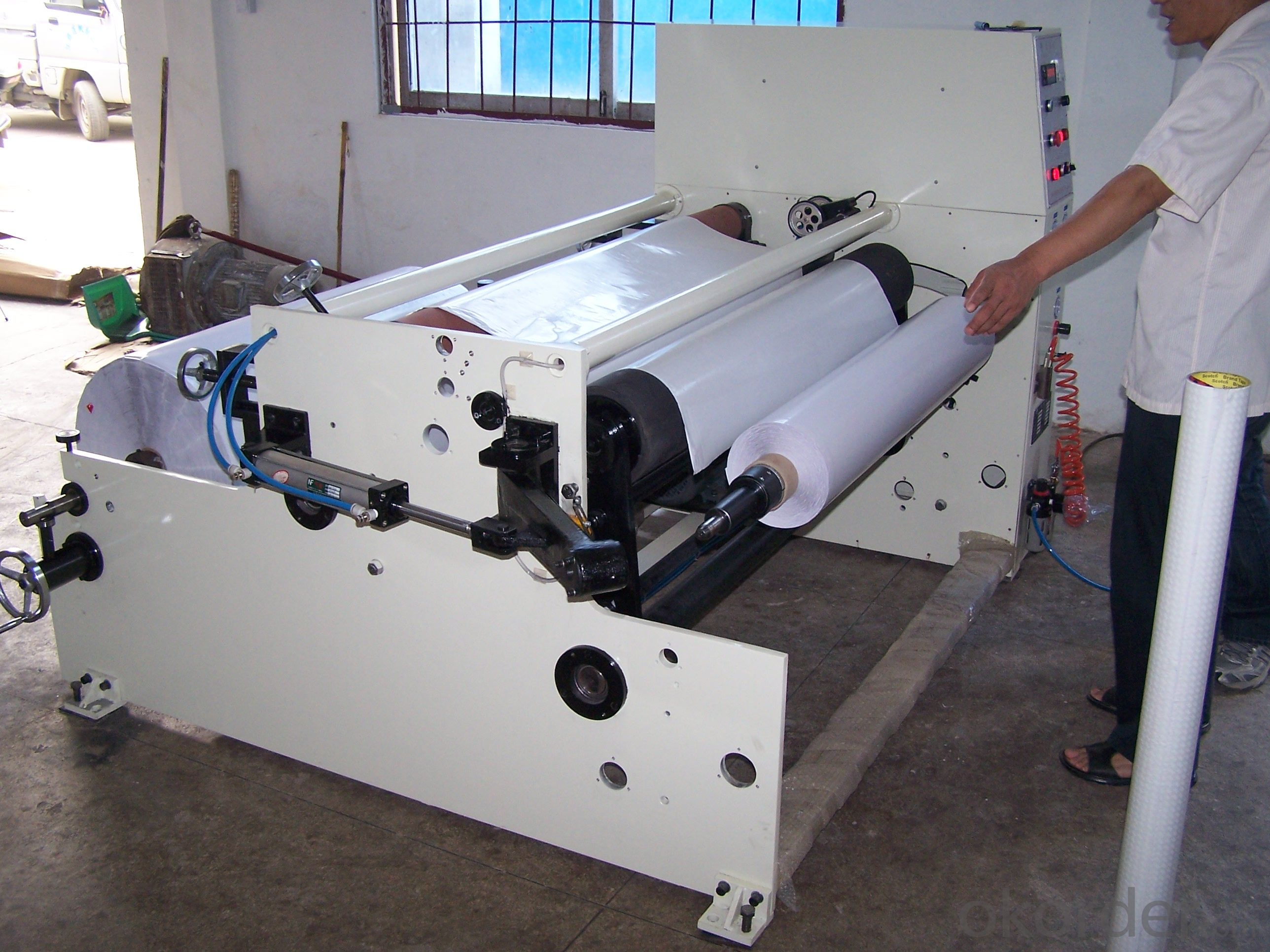 Big Rewinder Machine for BOPP Tape Cloth Tape