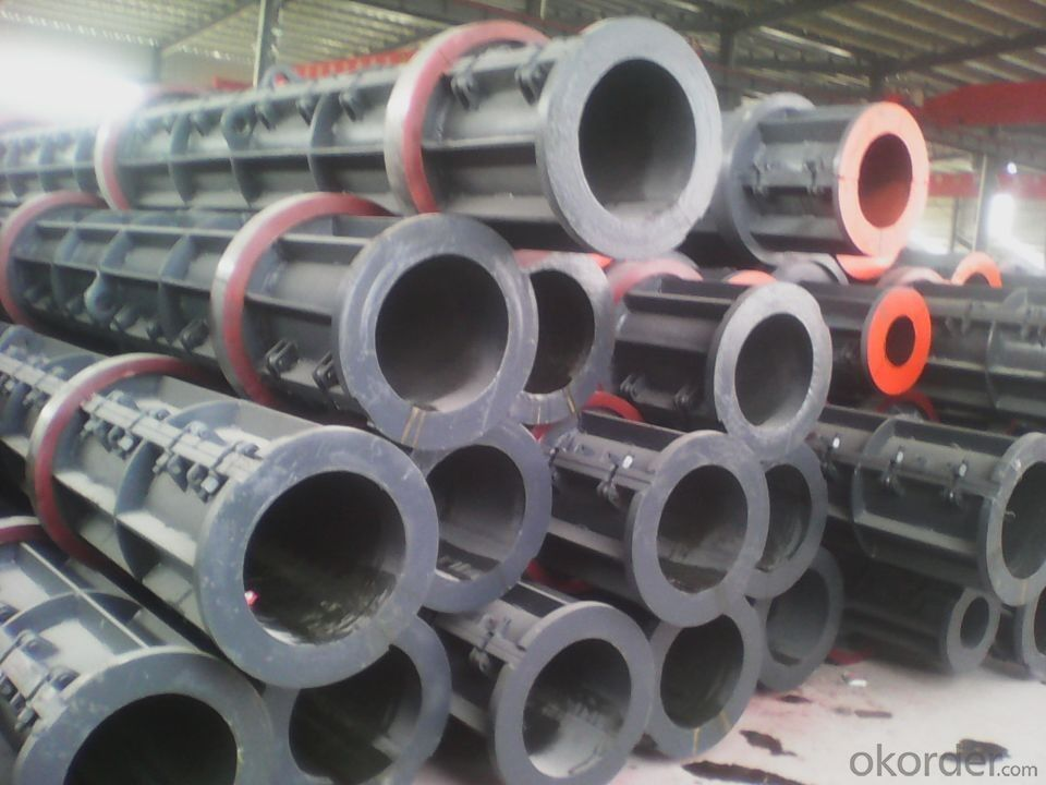 Building Construction Concrete Pipe Pile Equipment