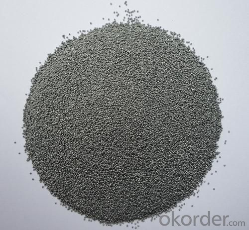 Steel Grit with High Quality Low Dust for Sandblasting