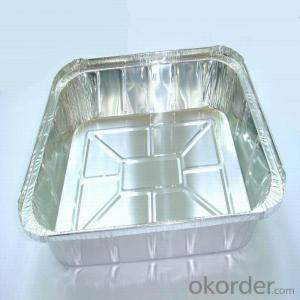 Aluminium Colred Foil for Airline Food of 9u