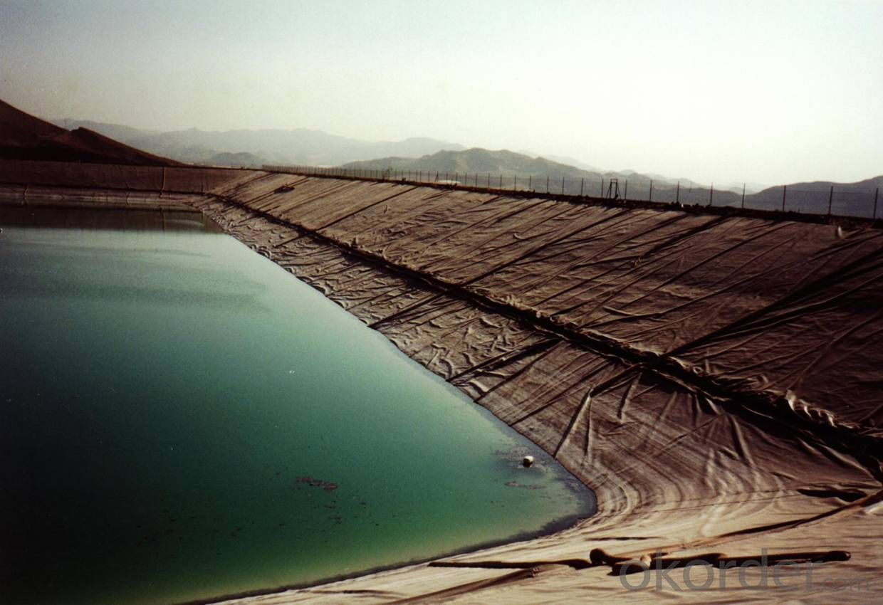 Geocomposite Geomembrane for  Landfill to Prevent the Waste Water