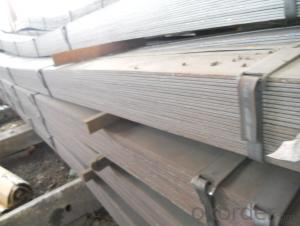 Slitting Steel Flat Bars A36, SS400, Q235