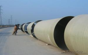 FRP Process Pipe/Industrial Fiberglass FRP Pipe