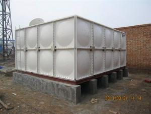 FRP smc best selling plastic water reservoir tanks