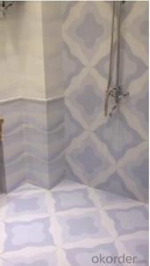 Foshan Manufacture Ceramic Wall Bathroom Tile (Hot Selling Design)
