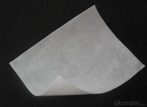 Pet Needle Punched Nonwoven Fabric Geotextile for Road Construction