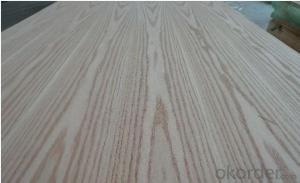 Red Oak Veneered MDF Panels Wood grain is flower