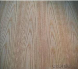 Red Oak Veneered MDF Panels Wood grain is Straight