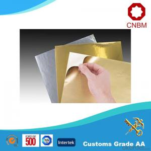 Aluminum Foil Facing Resist High Temperature Reinforced