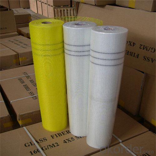 Coated Alikali-Resistent Fiberglass Soft Mesh 140g/m2 5*5mm  High Strength