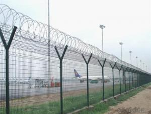 Razor Barbed Wire for Airport and National Security