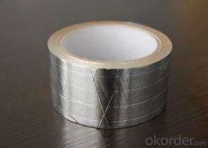 40mic Plain Aluminum Foil Tape for Insulation-T-F43001SP