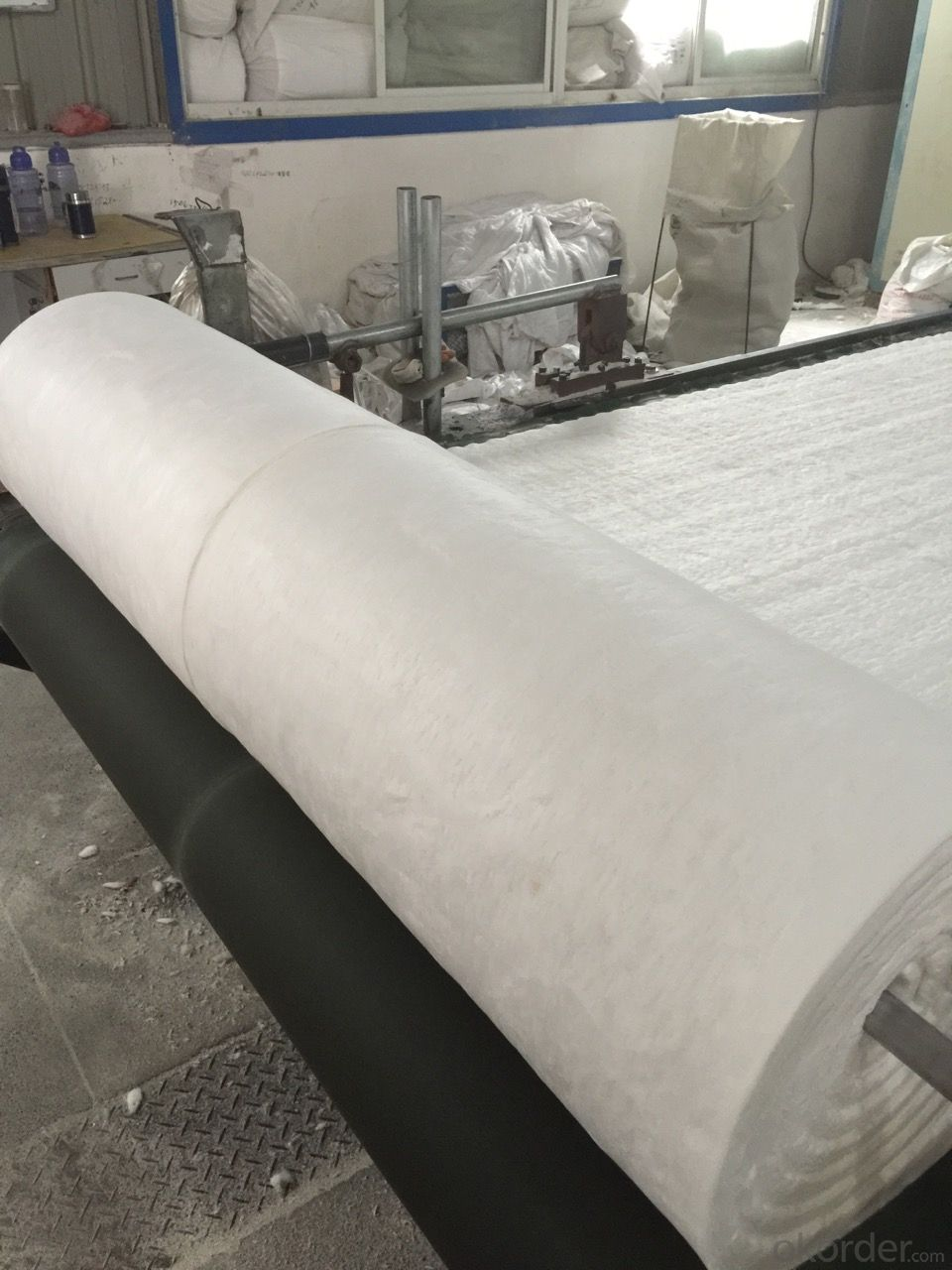 Refractory Insulating Materials Ceramic Fiber Blanket 1350C