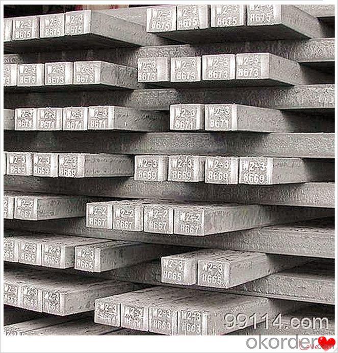 Steel Billets Q195-Q235 20mnsi Q235 Q275 Q345 for Fireplace Billet Steel