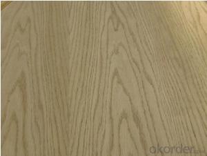 Red Oak Veneered MDF Panels Wood grain is Straight
