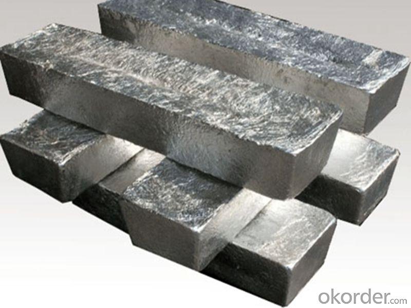 Magnesium Ingot 99.90%min. High Pure Magnesium