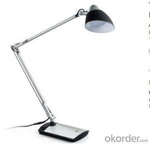 Metal Desk Lamp LED Rotatable Head Eye-Friendly Design 6W