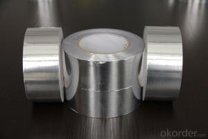 26mic Plain Aluminum Foil Tape for Insulation-T-F2601SP