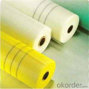Coated Alikali-Resistent Fiberglass Flooring Mesh 160g 5x5 High Strength