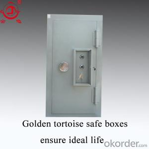 The Steel Security Door With Security Lock Bank Vault Door