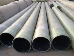 Kinds of DN Size FRP Pipe with Sand Filler