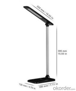 LED Desk Lamp Dimmable 3-Level Dimmer Touch-Sensitive Controller