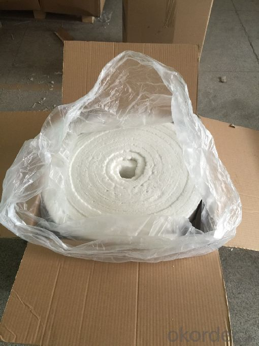 Refractory Insulating Materials Ceramic Fiber Blanket