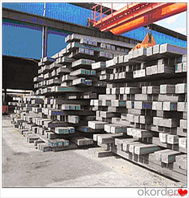 20mnsi Q235 Square Bar Steel Billets 3SP 5SP 20MnSi for Ceramic Tunnel Kiln