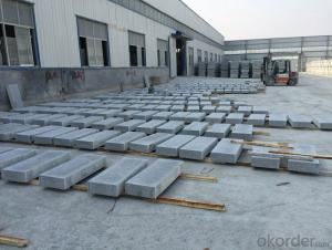 Wholesale Granite Roadside Stone Sesame Grey for European Market