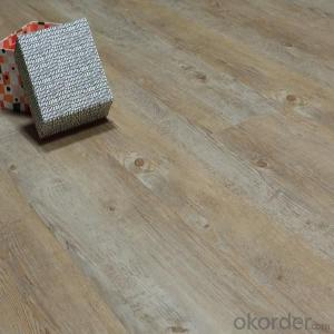 5.0MM Commercial Wood PVC Plank Loose Lay Vinyl Flooring   high quality