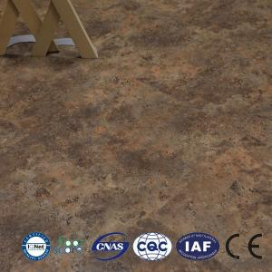Waterproof durable healthy 4mm interlock click lvt pvc vinyl floor  high quality