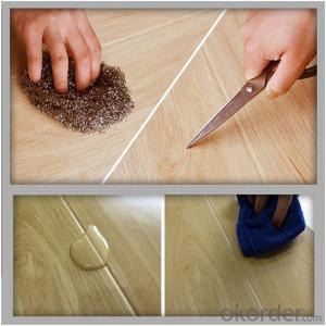 eco-friendly 100% virgin 2015  easy click system comfortable pvc vinyl floor