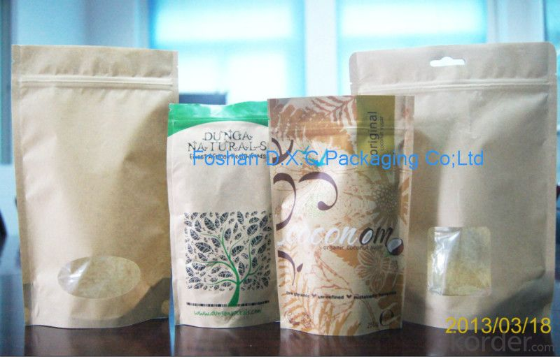 Multilayer Craft Paper Laminated with MPET and PE Bags for Packing