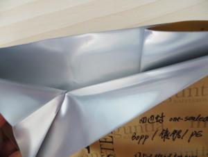 Metalized MBOPP Laminated with Craft Paper for Food Packing