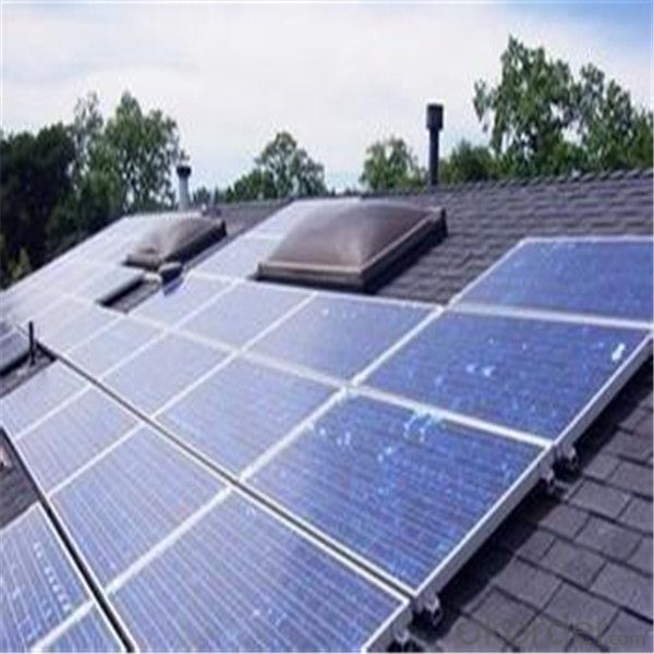 Roof and Ground Solar System  in China with Full Certificate