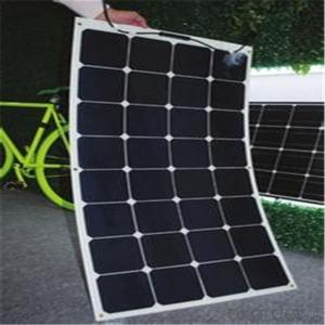 100W Sunpower Semi Flexible Solar Panel, 12V Battery Solar Panel Charger