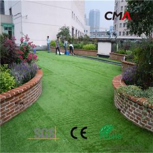 Natural Looking Garden Flooring Artificial Turf
