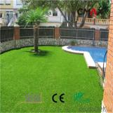 Natural Green Artificial Grass for Landscaping Like Garden