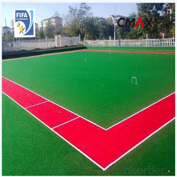 Soccer Artificial Grass Hot Sale Environment Friendly PP