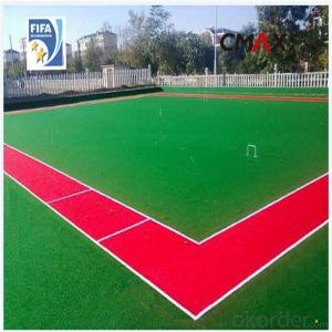 Soccer Artificial Grass Hot Sale Environment Friendly PP