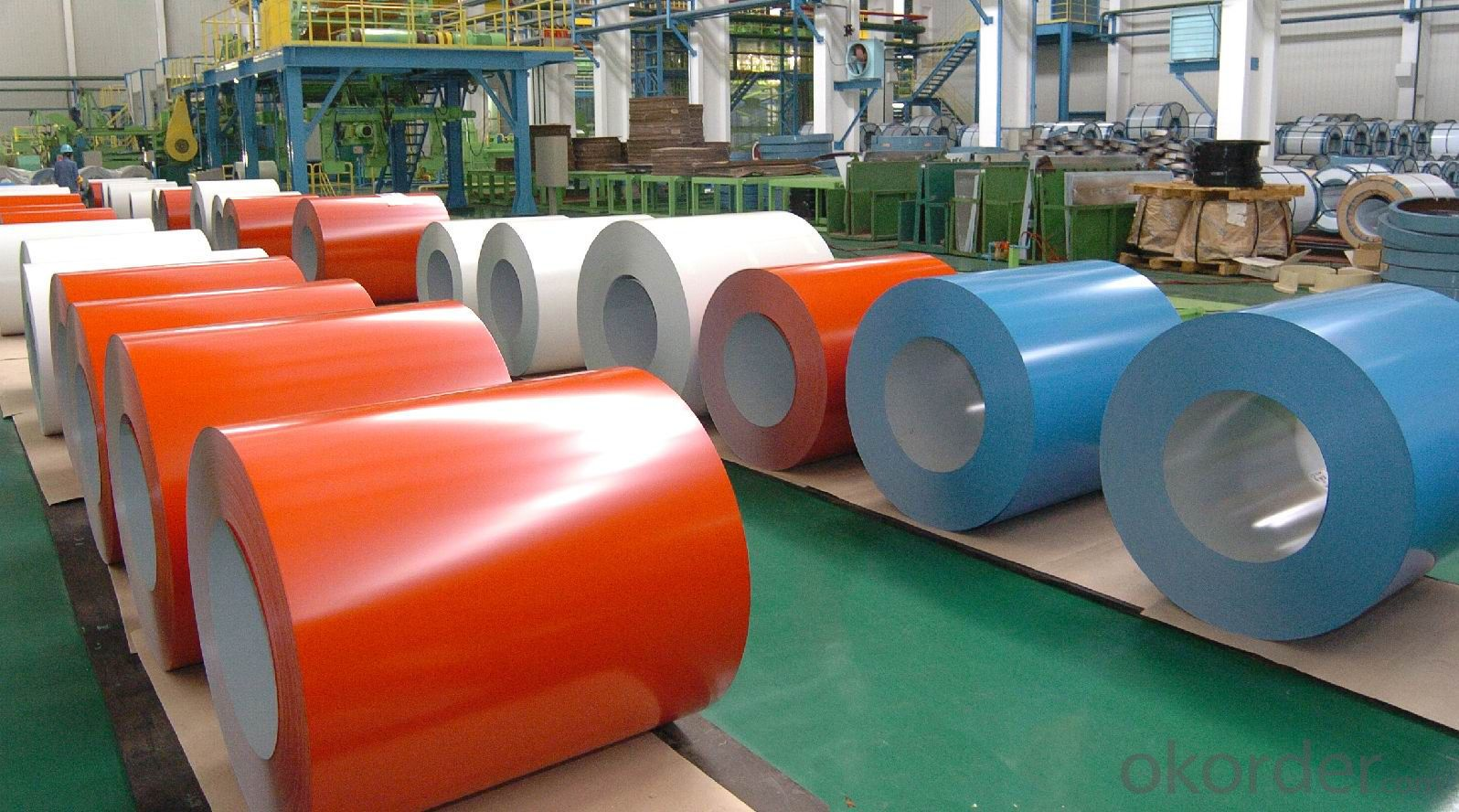 Domestic Color Coated Aluminium Coils for Wall Curtain