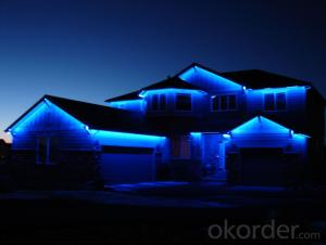 Solar LED Strip Lights Waterproof Outdoor Christmas tree